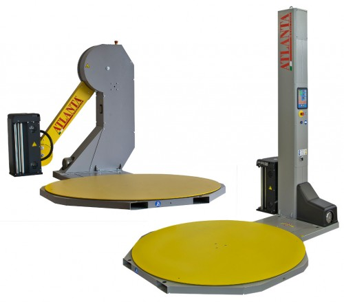 Stretch wrapping machinevideos